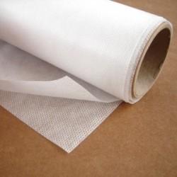 Netkaná textilie - bílá