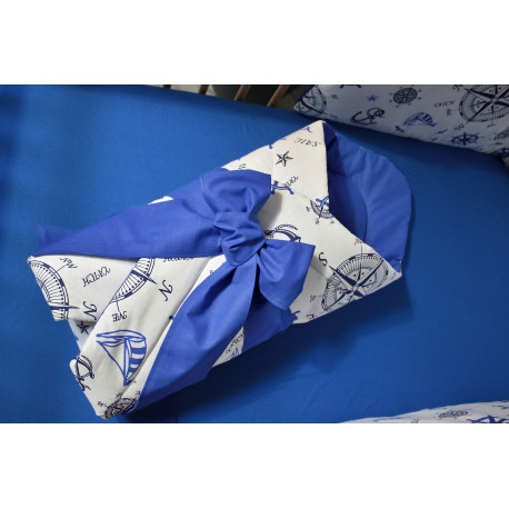 Zavinovačka - námořnická Royal + modré plátno