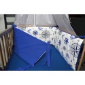 Mantinel  - námořnický Royal + modré plátno