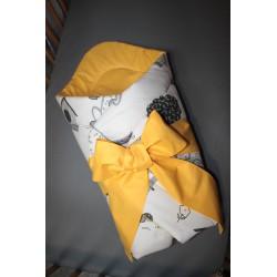 Zavinovačka - pejsci + žluté plátno