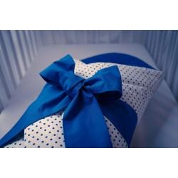 Zavinovačka - puntík tm.modrý + tm.modrá