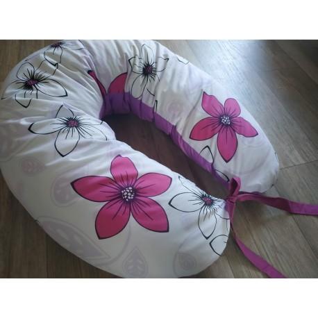 Kojicí polštář - květy