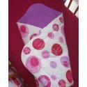 Zavinovačka - bublina jahodová + fialová (lila)