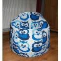 Vak koule - sovička modrá