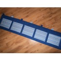 Kapsář - pruh na tm. modrém plátně