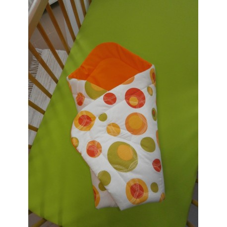 Zavinovačka - bublina oranžová + oranžové plátno