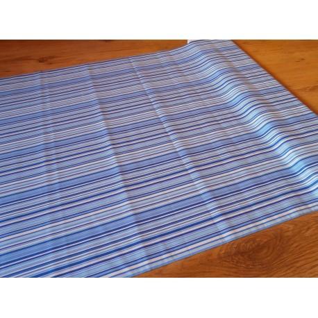 Metráž - proužek modrý š. 240 cm