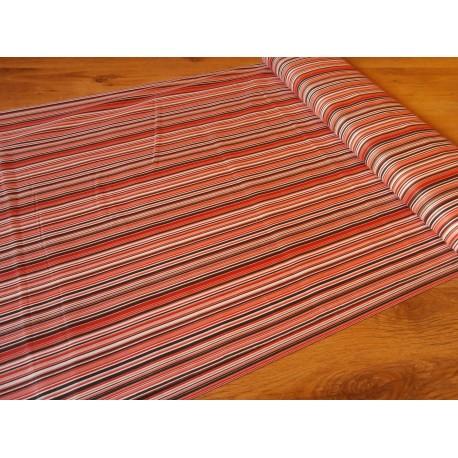 Metráž - proužek červený š. 240 cm