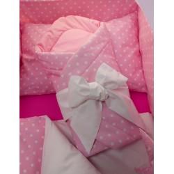 Zavinovačka - hvězdička + růžové plátno