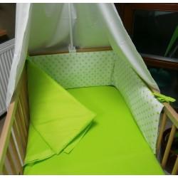 Mantinel  - hvězdičky limetkově zelené
