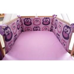 Mantinel  - fialové sovy