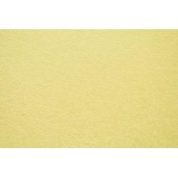 Froté prostěradlo - světle žluté