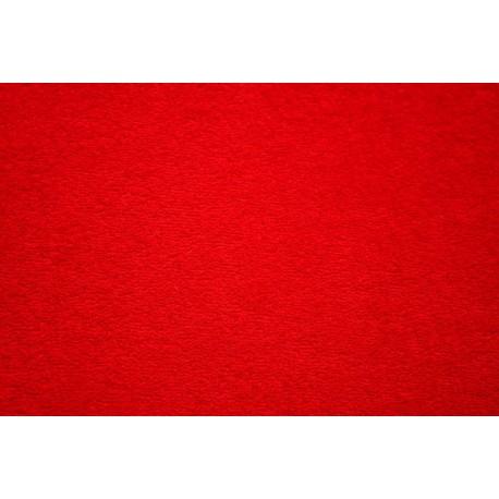 Froté prostěradlo - červené