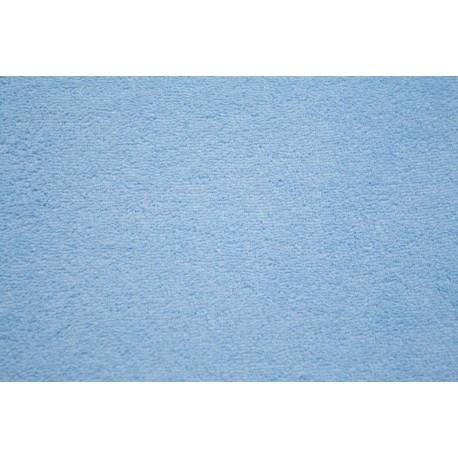 Froté prostěradlo - světle modré