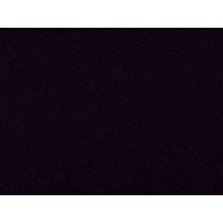 Jersey prostěradlo - černé